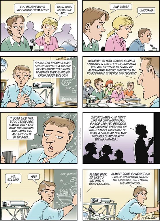 Teaching creationism in public schools essays