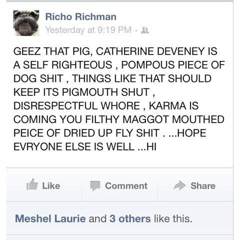 Richman Comment