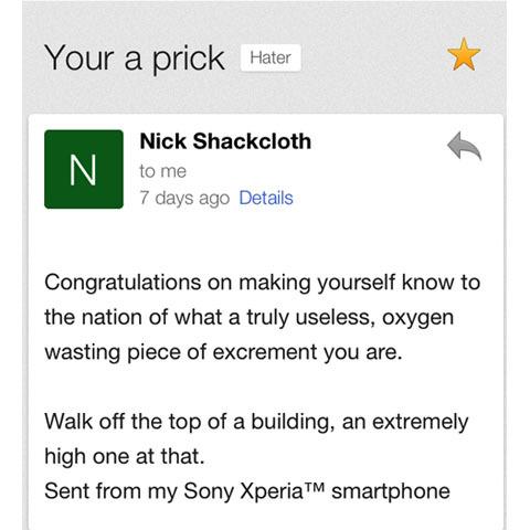 shackcloth comment